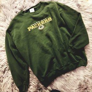 Vintage Green Bay packers crewneck sweatshirt